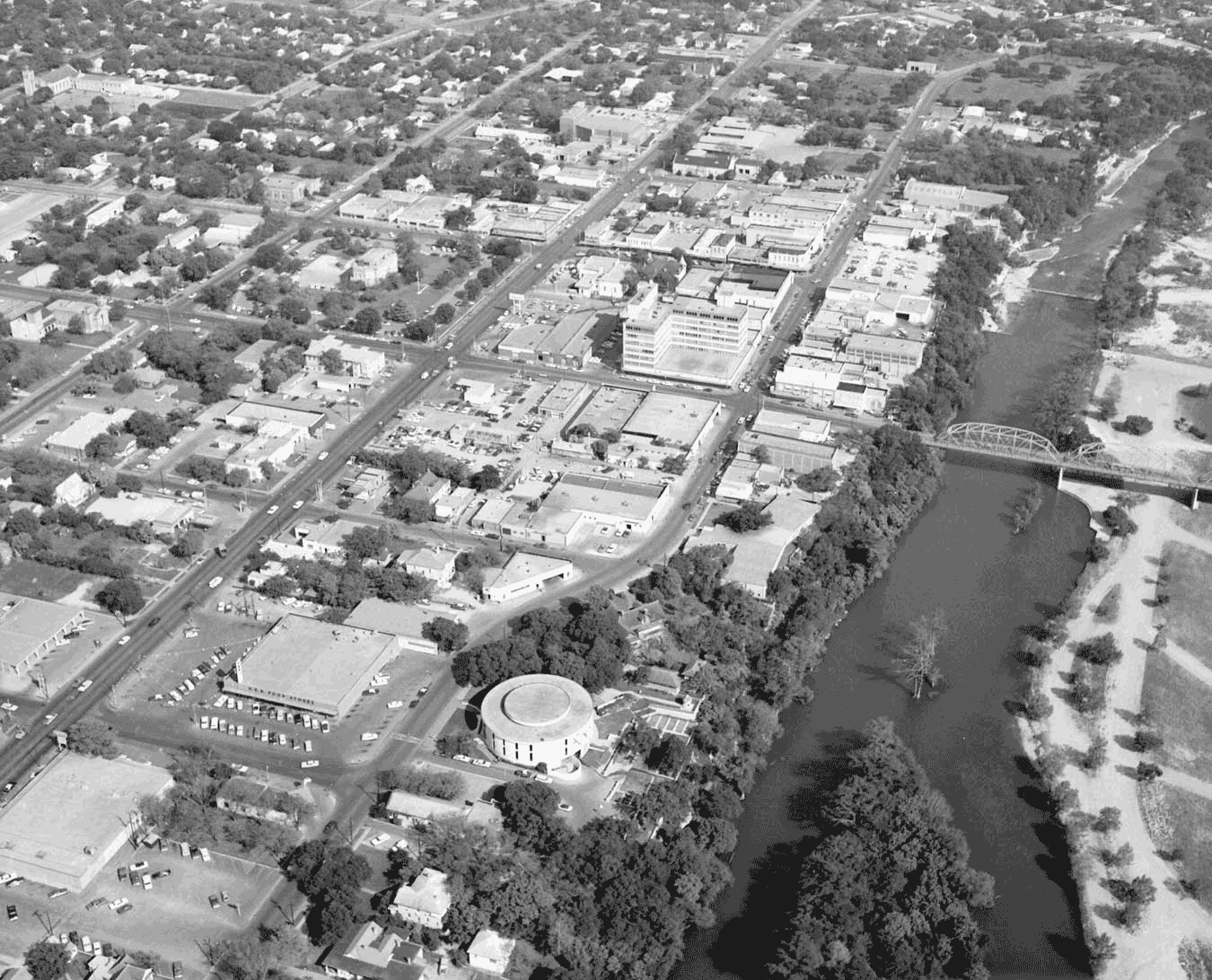 Aerial image of Kerrville